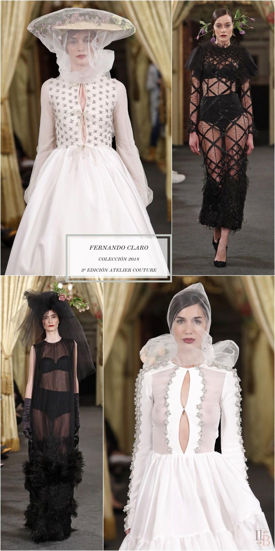 Desfile Atelier Couture 2017- Fernando Claro Costura. Post en Llega mi Boda.