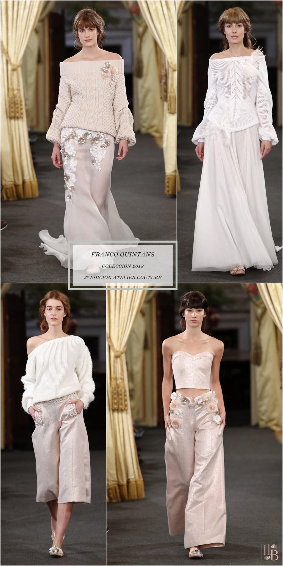 Desfile Atelier Couture 2017- Arousa by FQ-Franco Quintáns. Post en Llega mi Boda.