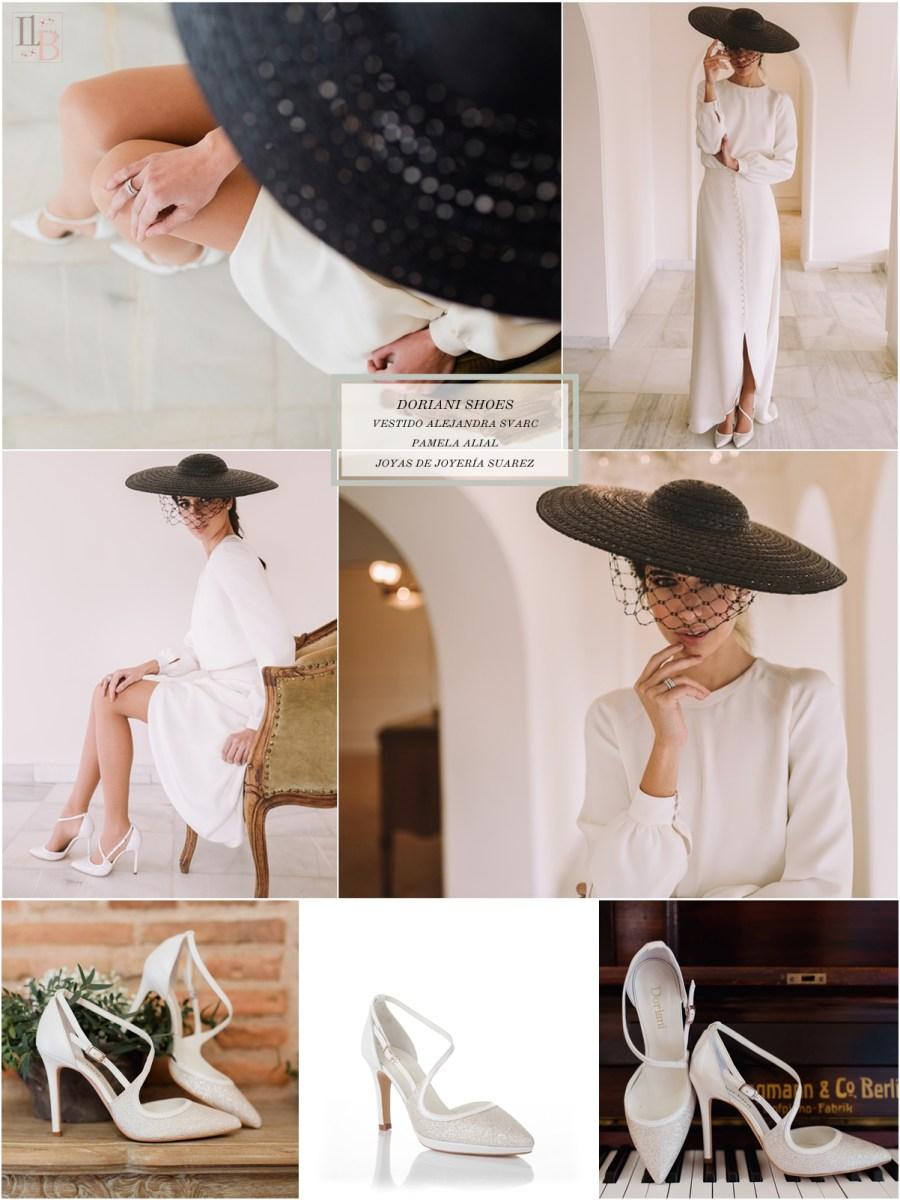 Intemporel, nueva colección Doriani Shoes con vestido de Alejandra Svarc. Post Llega mi Boda