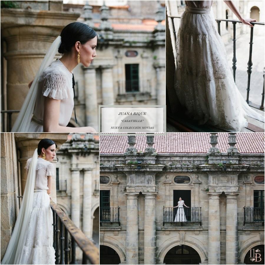 """Juana Rique presenta""""Casavielle"""", nueva colección de Novias. Post en Llega mi Boda."""