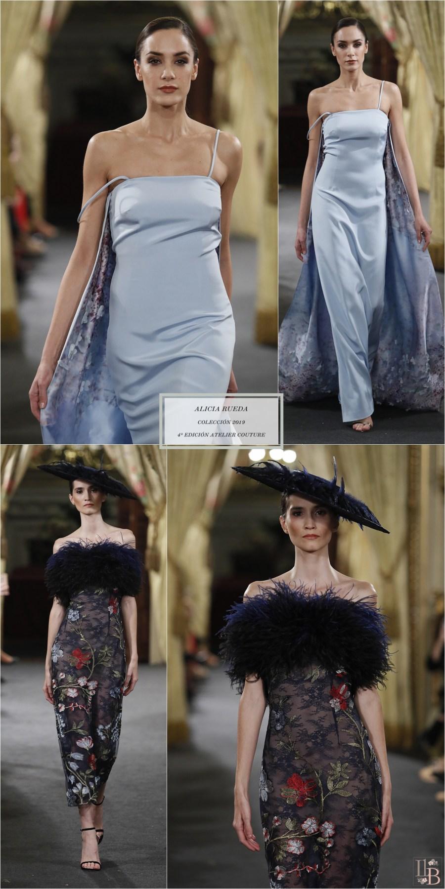 Desfile Atelier Couture 2018- Alicia Rueda: Colección invitada y Novia