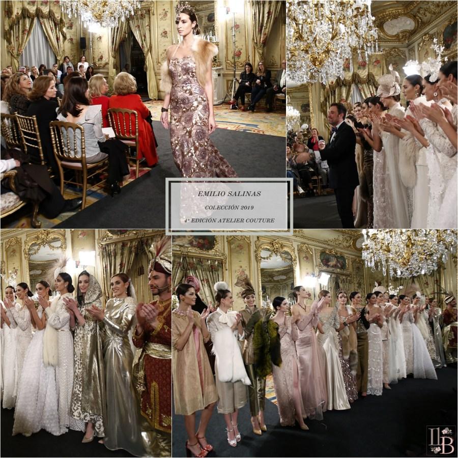 """Desfile Atelier Couture 2018- Emilio Salinas: Colección """"L ÉTAIT UNE FOIS DANS L'ORIENT EXPRESS"""""""