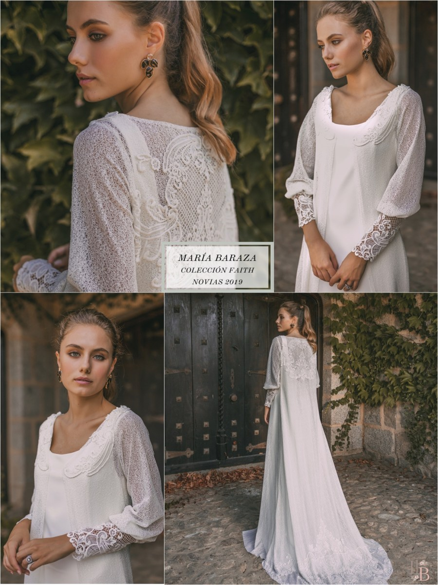 Faith, la nueva colección para las novias de María Baraza. Post en LLega mi Boda