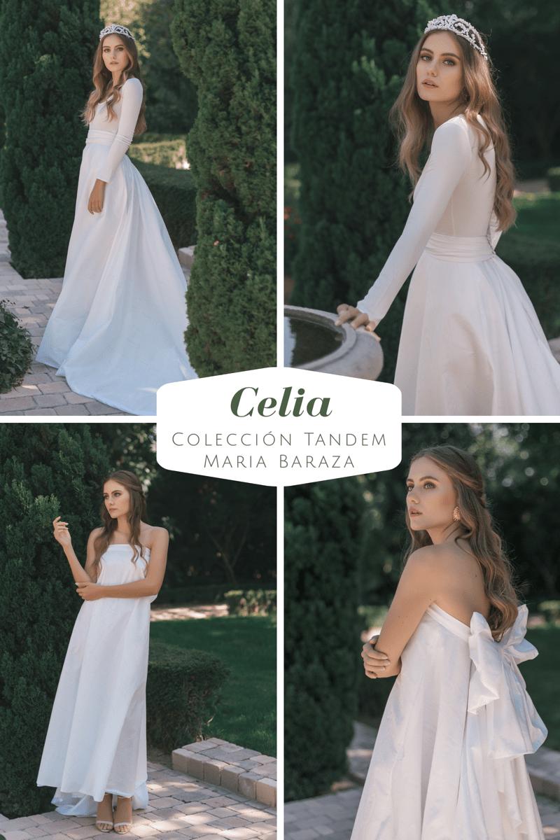 T Á N D E M, la nueva colección de María Baraza by llega mi boda. Celia