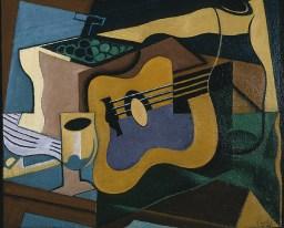 Still life with guitar, 1920 Juan Gris