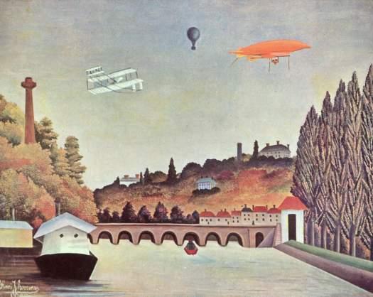 Vista del pont de Sèvres, Henri Rousseau, 1908