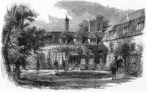 Frewin Hall 1859 Illustrated London News