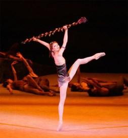 Spartacus. Svetlana Zakharova (Aegina). Foto Bolshoi