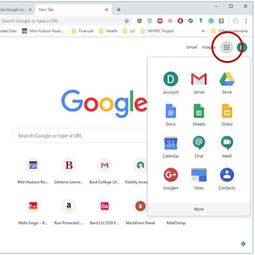 Google Menu Icon
