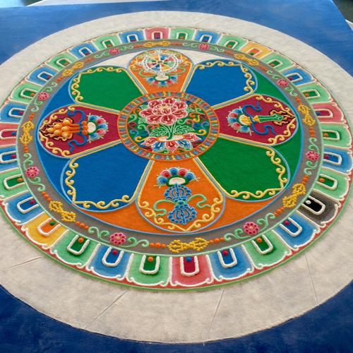 Finished Mandala