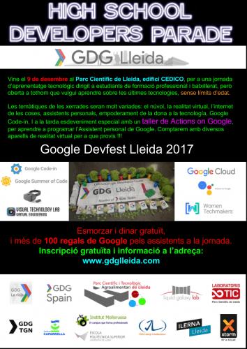Google Devfest Lleida 2017