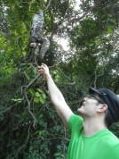 Leandro and the sloth
