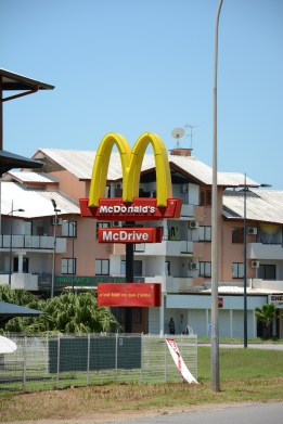 Of course there is a Mc Donald's