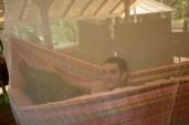 Leandro in the hammock