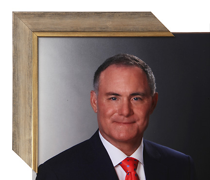 portrait print custom framing