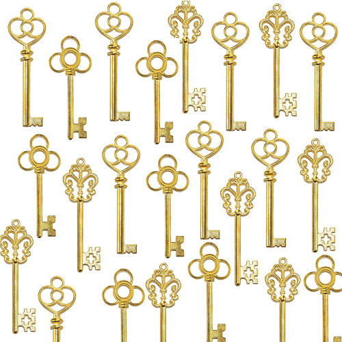 Golden Key Party Favors