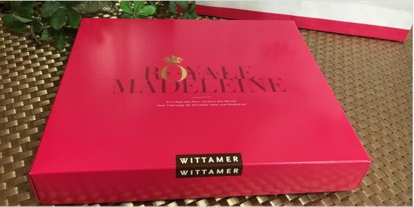 お取り寄せレポート WITTAMER(ヴィタメール) ロイヤル・マドレーヌ