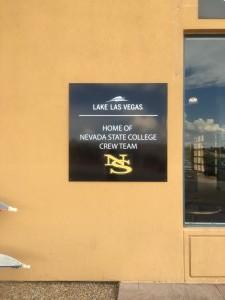 Boathouse NSC sign
