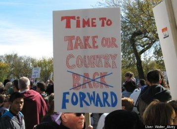 It's time to take our country back no forward