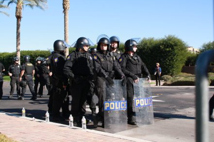 Protest against ALEC in Scottsdale AZ on Nov 30 2011 photo 28