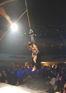 Hanging by hooks in skin Japan 1
