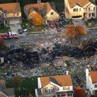 Indianapolis IN: Before and After Photos of South Side Home Explosion Nov. 10, 2012