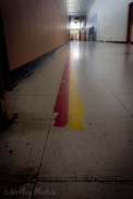 Follow the yellow-red line.