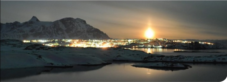 Sisimiut by night