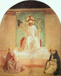 The Mocking of Christ by Fra Angelico