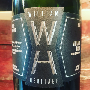 Williams Heritage Vineyards Brut Sparkling Wine is made in New Jersey's Outer Coastal Plain AVA.