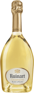 Ruinart Blanc de Blancs Champagne is sourced from 100% Chardonnay from the Côte de Blancs; Montagne de Reims, and the Sézannais.