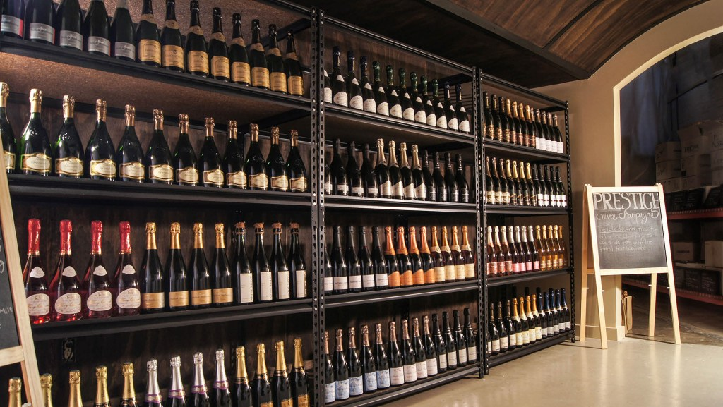 Fat Cork in Seattle offers a range of grower champagnes and sparkling wines.