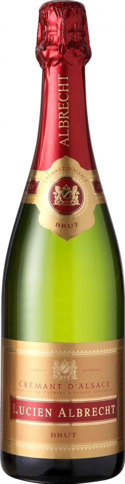 Lucien Albrecht NV Brut Crémant is a blend of 50% Pinot Blanc, 50% Auxerrois