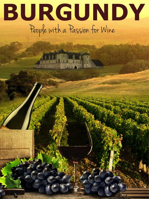 """Burgundy: People with a Passion for Wine,"" by Rudi Goldman."