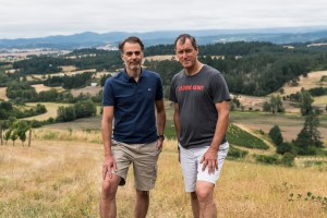 Jay Boberg andJean-Nicolas Méo of Domaine Nicolas-Jay have purchased an estate vineyard in Oregon's Dundee Hills.
