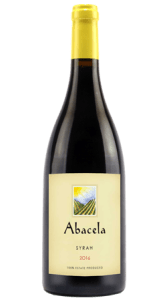 Abacela 2015 South Face Syrah ages 22 mos. in 30% new oak.