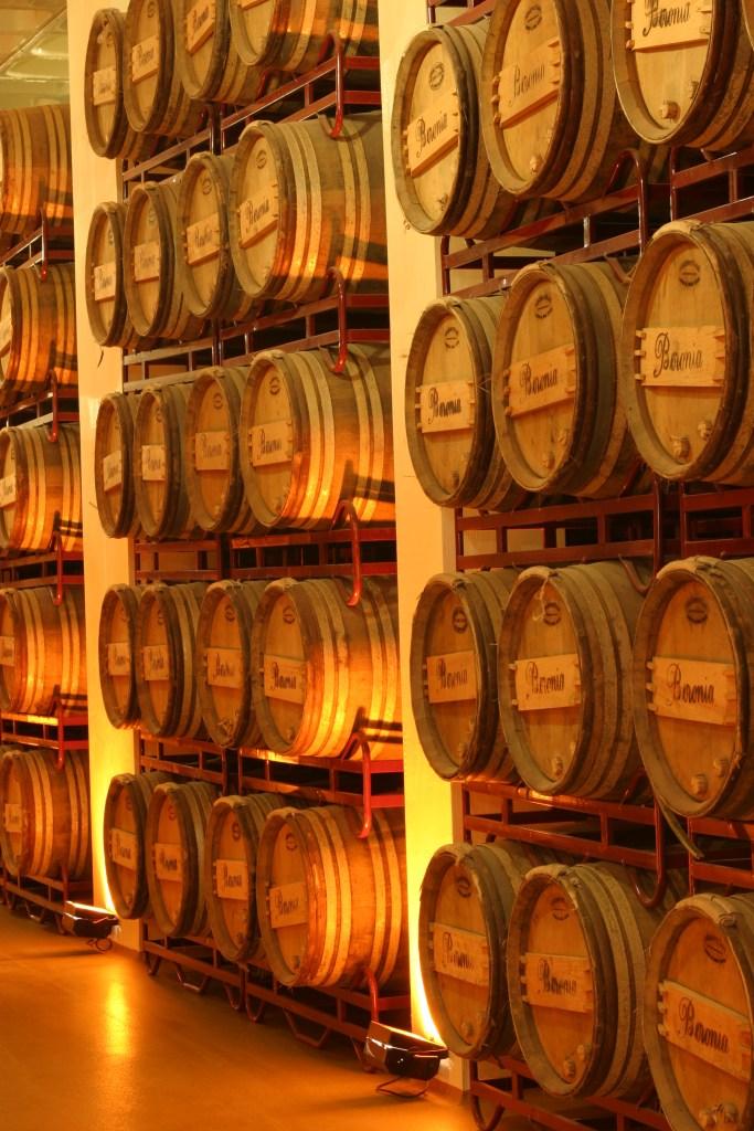 Beronia Hybrid barrels.