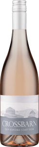 Crossbarn Sonoma Coast Rosé of Pinot Noir is made by California winemakerPaul Hobbs.