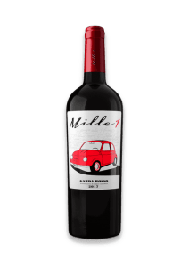 Mille 1 Red Italian wine from Lake Garda in northern Italy.