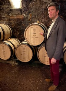 Frédéric Drouhin is the President of the Executive Board for Maison Joseph Drouhin, the prestigious Bourgogne producer based in Beaune. Image: ©LMArcher