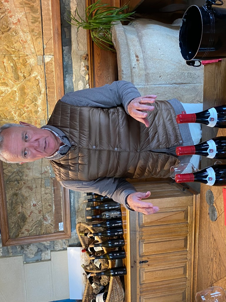 François Labet of Chateau de La Tour in Bourgogne's famed Clos Vougeot.