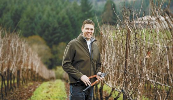 Ben Martin, craft vintner, Dauntless Wine Cø.