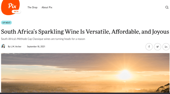 South Africa's Cap Classique sparkling wine is affordable, fun and versatile.
