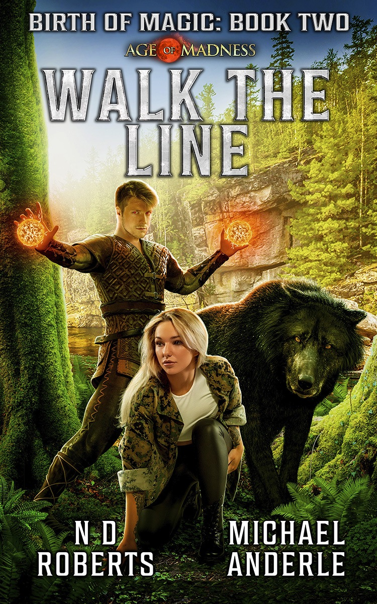 Walk the Line e-book cover