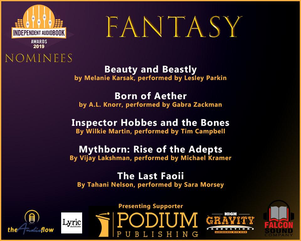 Fantasy Audie awards