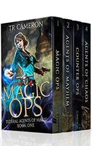 Federal Agents of magic boxed set cover