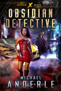 Obsidian Detective eBook Cover