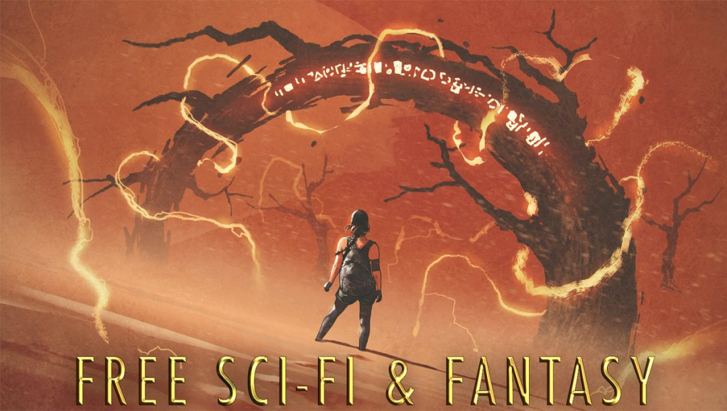 free scifi and fantasy book fair banner
