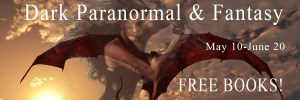 Dark paranormal and fantasy banner