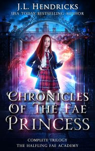 Chronicles of the fae princess cover